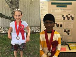 2 Bretton Woods Students Receive Honorable Mentions at Brookhaven National Laboratory Science Fair