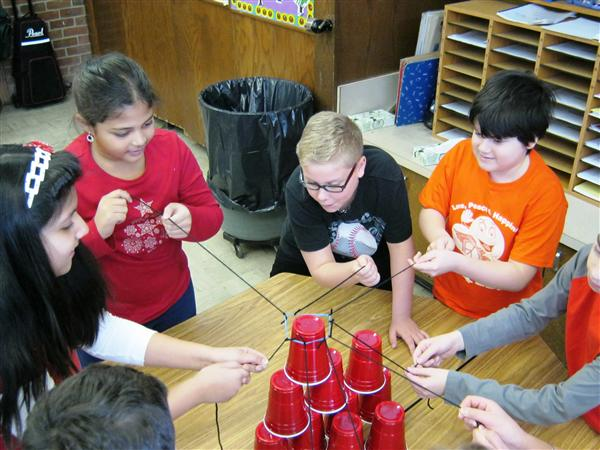 4th Grade Team Building Challenge