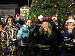 Bretton Woods & Forest Brook spread holiday cheer at the Smithtown Hall Holiday Tree Lighting
