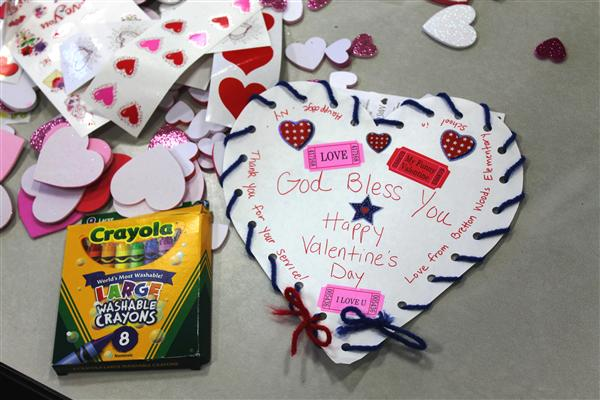 Valentines to Send Overseas Armed Forces