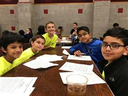 5th Grade Math Olympiad Team Places 9th in Suffolk County