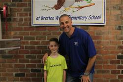 "BW Student wins the ""Award of Excellence"" from PTA Reflections"