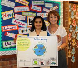 Bretton Woods 5th Grader Takes 1st Place in Earth Day Contest