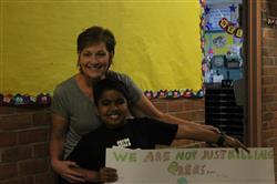 Earth Day poster contest winner in 5th Grade