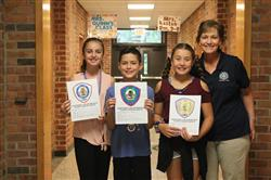Bretton Woods 5th Grade Students are Winners in the Hauppauge Fire Department Essay Contest