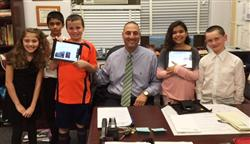 iPads in Mrs. Driscoll's 4th Grade Class