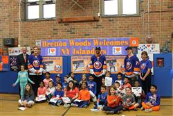 The NY Islanders visit Bretton Woods