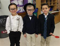 Kindergarten Students Celebrate the 100th Day of School