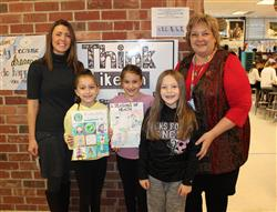 "Pines Artists Participate in Stony Brook Children's Hospital's ""Living Healthy"" Art Show"