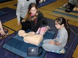CPR Introduction to 5th Grade Students