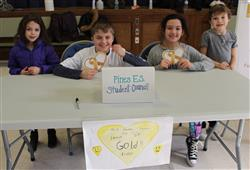 Pines ES Helps Whip Pediatric Cancer