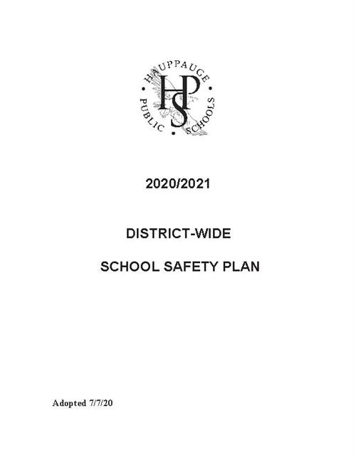 2020/2021 District-Wide School Safety Plan