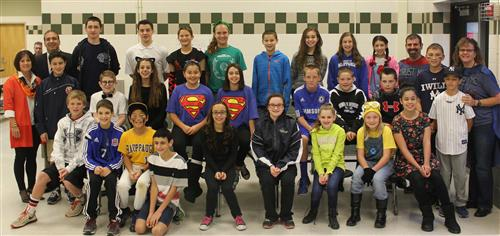 Middle School Students Recognized for R I C E