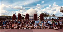 Group photo Walt Disney World Music