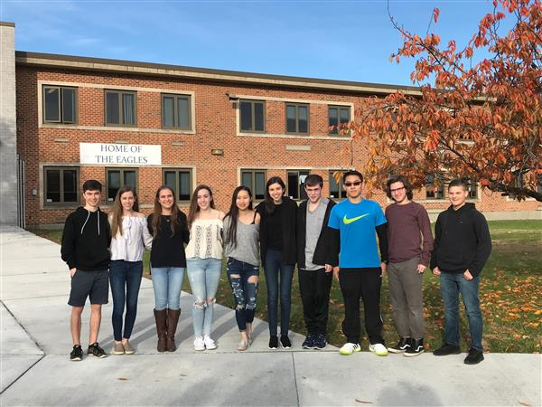 Hauppauge High School Announces Valedictorian, Salutatorian and the Top 10 Students of the Class of 2019!