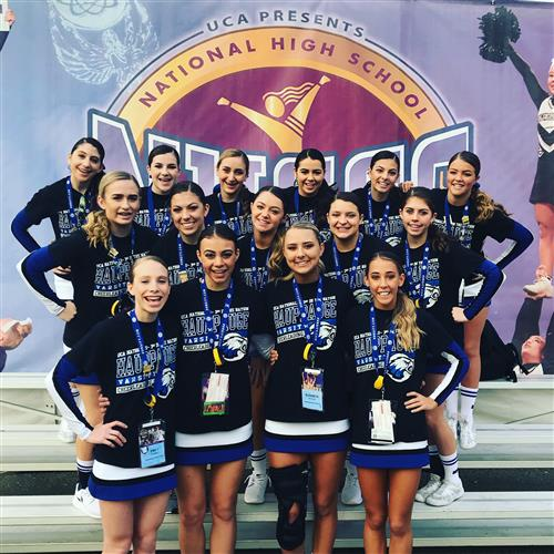 Cheerleaders are #2 at the Nationals