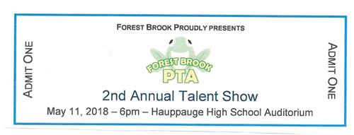 Forest Brook Talent 2018