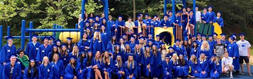Class of 2018 Senior Walk