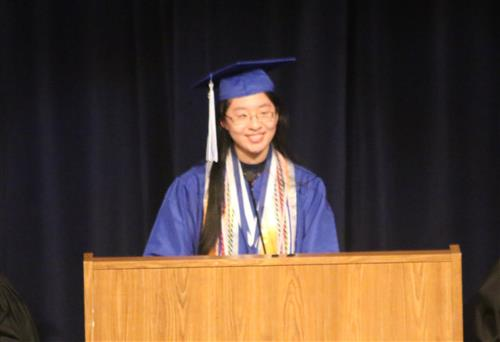 Address – Valedictorian Erin Fan