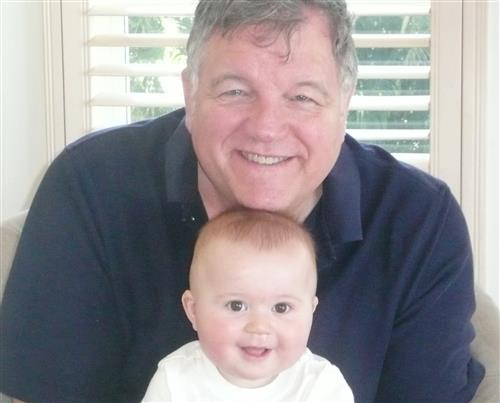 Tom Gould and Grandson
