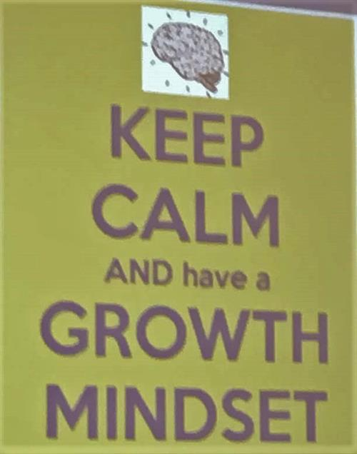 Growth Mind Set poster