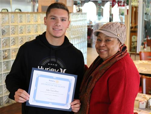 Student of the Month - December 2017