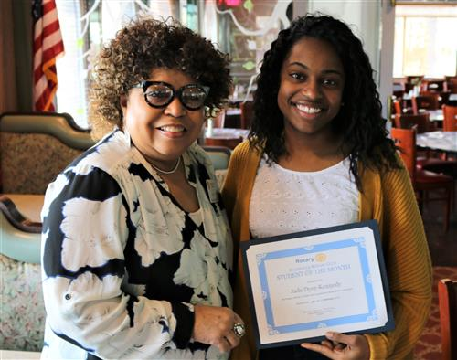 Rotary Student of the Month - February 2018