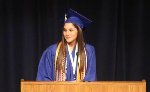 Closing Remarks - Senior Class Public Relations Lexi Manuel