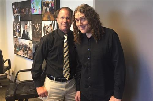 Pat Mullooly and Weird Al