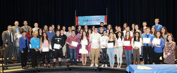 HHS Students Honored at 2nd Annual Award Ceremony