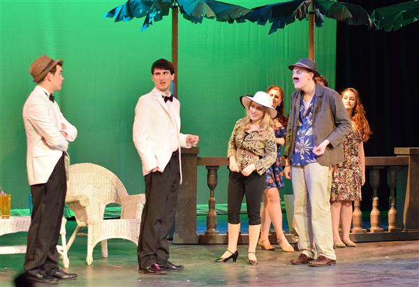 "HS Musical - A Glowing Team Effort For ""Dirty Rotten Scoundrels"""