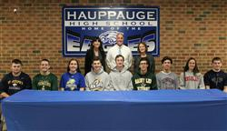 Hauppauge Seniors Commit to Continue Their Academic and Athletic Careers at the Collegiate Level