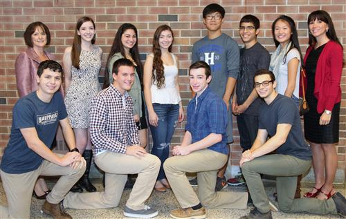 Hauppauge High School Announces Top 10 Students of the Class of 2015