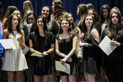Hauppauge High School Inducts Students into National Honor Society