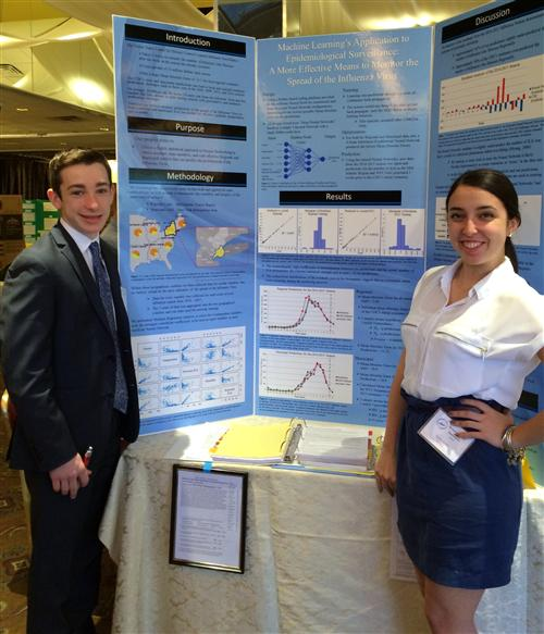 HHS Seniors' Revolutionary Method To Predict Flu Outbreak Takes First Place At International Science Competition
