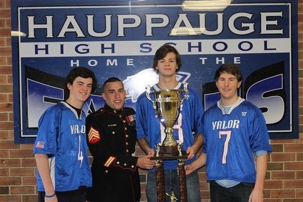 HHS Lacrosse Players Help Win Prestigious Dan Daly Cup