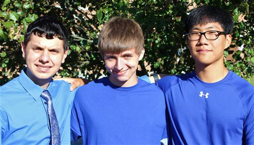 Three HHS Students Named Finalists in the 2015 National Merit Scholarship Program