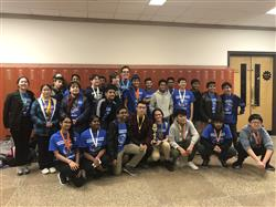 HIGH SCHOOL SCIENCE OLYMPIAD TEAM EARNS 5TH PLACE IN THE EASTERN LONG ISLAND REGIONAL SCIENCE COMPETITION AND A TRIP TO THE NYS COMPETITION IN MARCH!