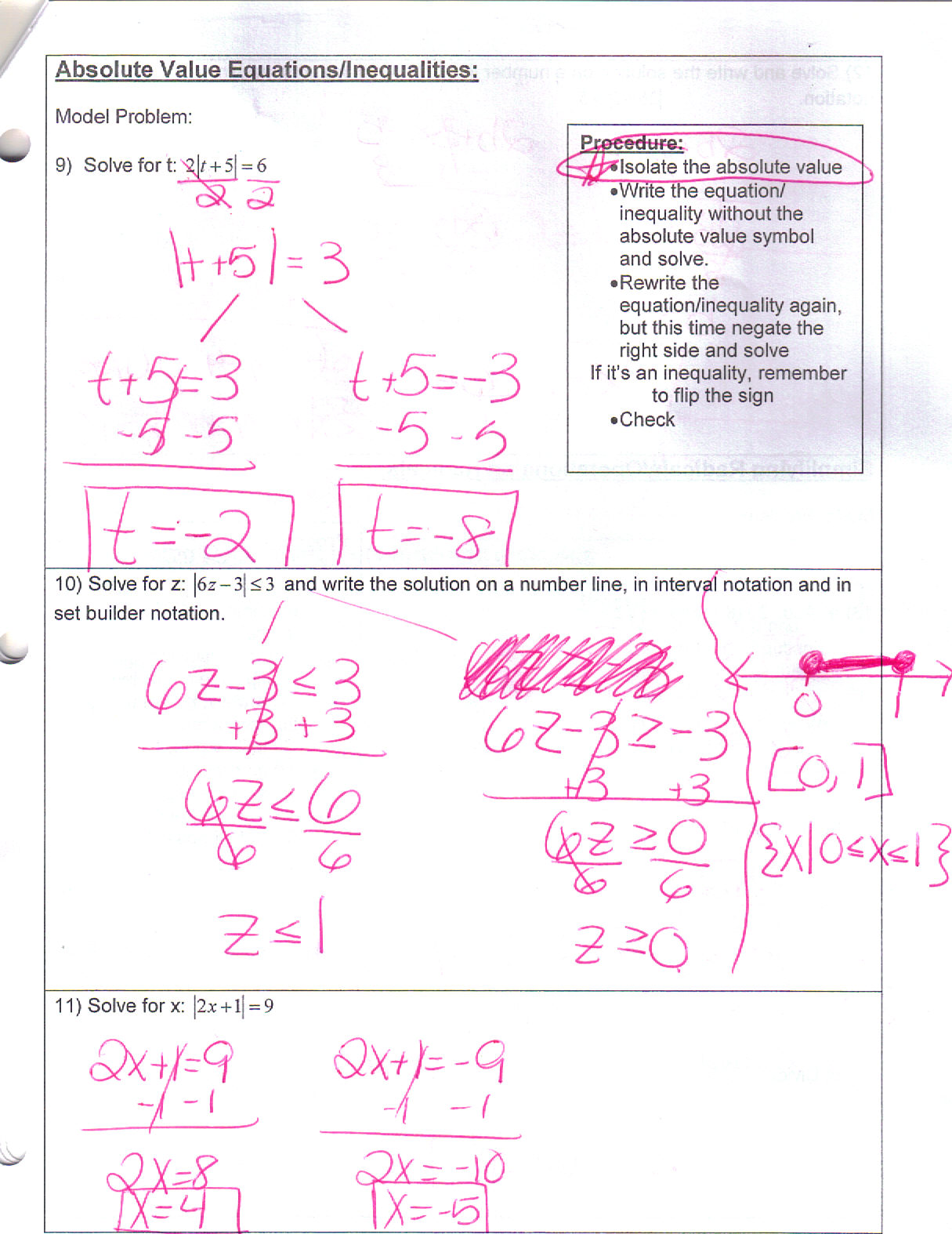 Algebra 2 trig regents review test 1 answers